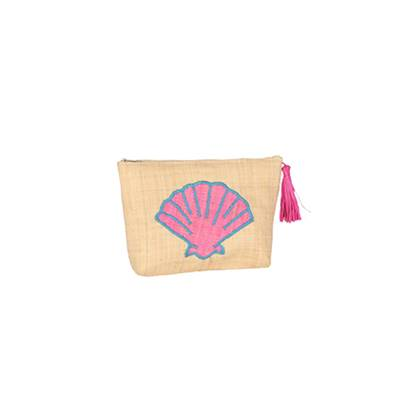 Pochette patch brodé - Fun Coquillage